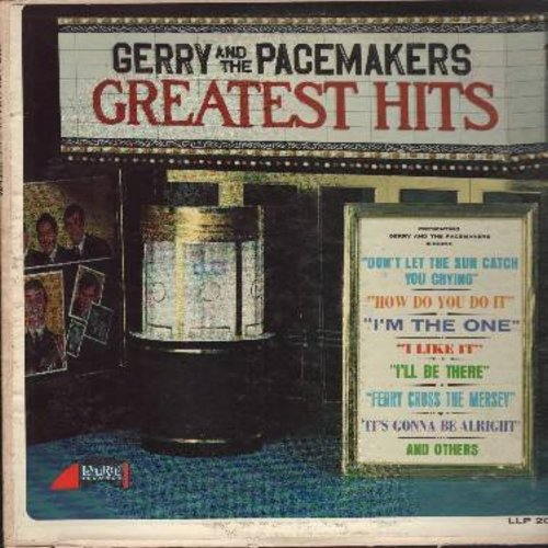 Gerry & The Pacemakers - Greatest Hits: How Do You Do It?, I Like It, Ferry Cross The Mersey, Don't Let The Sun Catch You Crying (vinyl MONO LP record) - VG7/VG6 - LP Records