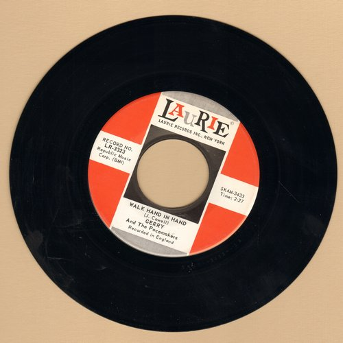Gerry & The Pacemakers - Walk Hand In Hand/Dream  - NM9/ - 45 rpm Records
