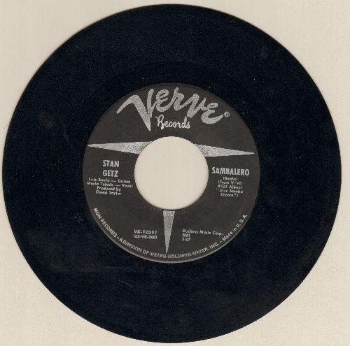 Getz, Stan - Sambalero/O Morro - NM9/ - 45 rpm Records