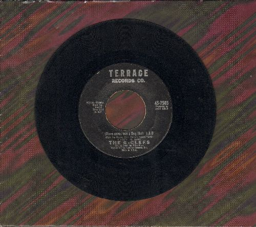 G-Clefs - There Never Was A Dog Like Lad (TEAR JERKER about -man's best friend-)/A Girl Has To Know (NICE condition!) - NM9/ - 45 rpm Records