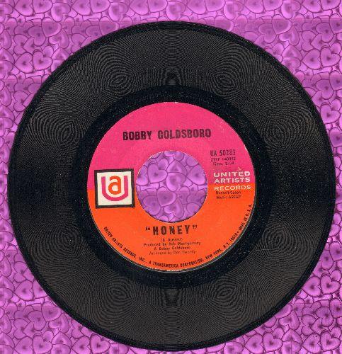 Goldsboro, Bobby - Honey (Honey, I Miss You)/Danny (pastel color logo) - VG7/ - 45 rpm Records
