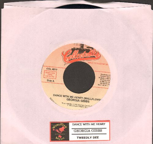 Gibbs, Georgia - Dance With Me Henry (Wallflower)/Tweedle Dee (re-issue) - M10/ - 45 rpm Records