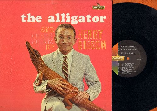 Gibson, Henry - The Alligator and other Poems by Henry Gibson - Hilarious Pre-Laugh-In Comedy Album! (vinyl MONO LP record) - M10/EX8 - LP Records