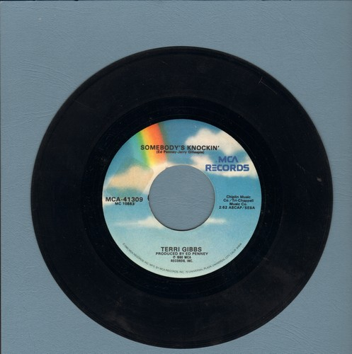Gibbs, Terri - Somebody's Knockin'/Some Days It Rains All Night Long - VG7/ - 45 rpm Records