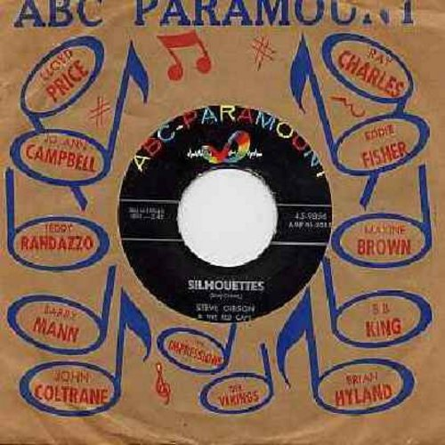 Gibson, Steve & The Red Caps - Silhouettes/Flamingo (with ABC-Paramount company sleeve) - EX8/ - 45 rpm Records