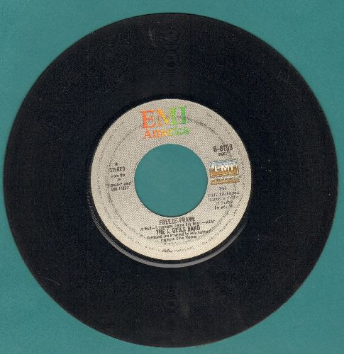 Geils, J. Band - Freeze Frame/Flame Thrower (with EMI company sleeve) - EX8/ - 45 rpm Records