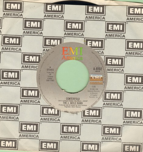 Geils, J. Band - Centerfold/Rage In The Cage (#1 US Billboard Chart Single of The Year 1982!)  - NM9/ - 45 rpm Records