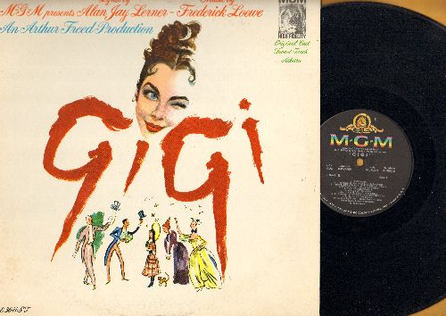 Gigi - Gigi - Original Sound Track Album: Thank Heaven For Little Girls, It's A Bore, I Remember It Well, Gigi (vinyl MONO LP record, gate-fold cover) - EX8/EX8 - LP Records