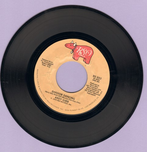Gibb, Andy - Shadow Dancing/Let It Be Me - EX8/ - 45 rpm Records