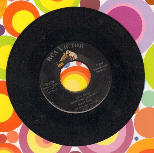 Gibbs, Georgia - Sugar Candy/I'm Walking The Floor Over You  - EX8/ - 45 rpm Records