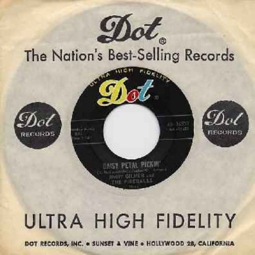 Gilmer, Jimmy & The Fireballs - Daisy Petal Pickin'/When My Tears Have Dried (with Dot company sleeve) - EX8/ - 45 rpm Records
