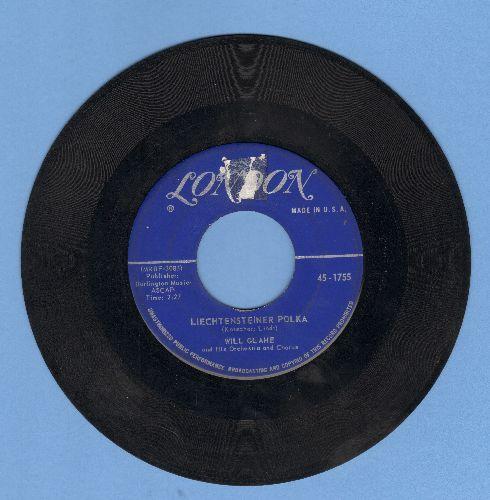 Glahe, Will - Liechtensteiner Polka/Schweizer Kanton Polka (sol) - VG6/ - 45 rpm Records
