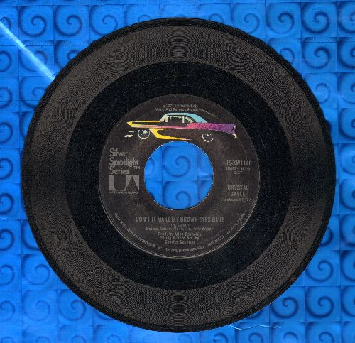 Gayle, Crystal - Don't It Make My Brown Eyes Blue/Green Door (re-issue) - NM9/ - 45 rpm Records