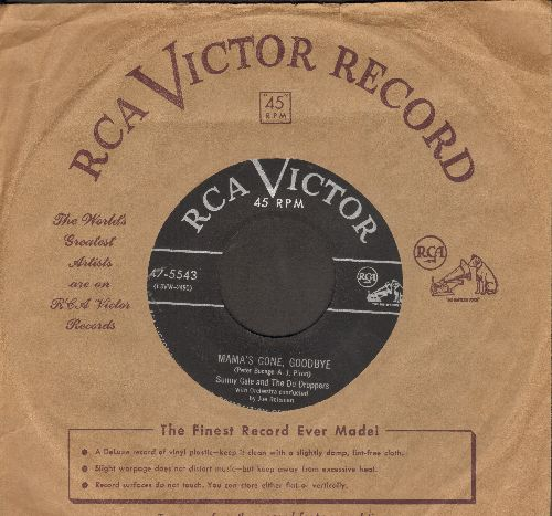 Gale, Sunny - Mama's Gone, Goodbye/The Note In The Bottle (with RCA company sleeve) - VG7/ - 45 rpm Records