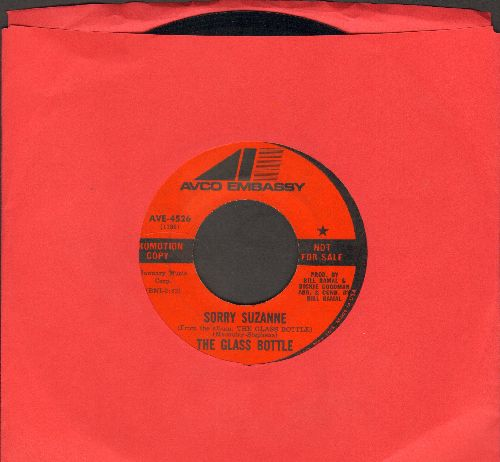 Glass Bottle - Sorry Suzanne (double-A-sided DJ advance pressing) - NM9/ - 45 rpm Records