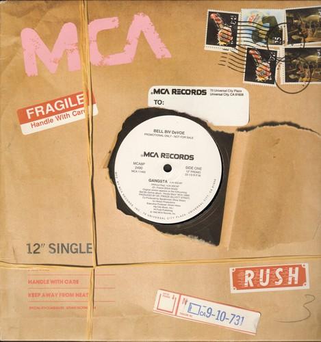 Bell Biv Devoe - Gangsta/Gangsta (Instrumental) (12 inch Extended Rap Maxi-Single, DJ Promo Pressing) - NM9/ - Maxi Singles