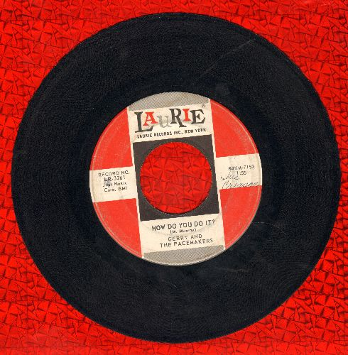 Gerry & The Pacemakers - How Do You Do It?/You'll Never Walk Alone (first pressing) - VG6/ - 45 rpm Records