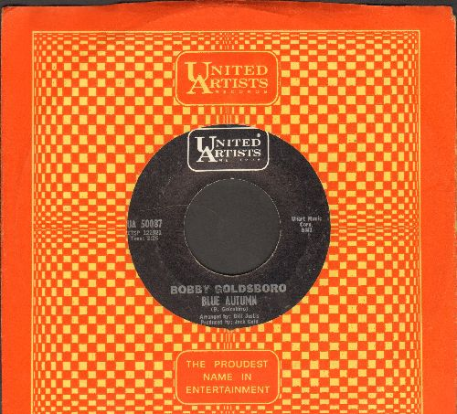 Goldsboro, Bobby - Blue Autumn/I Just Don't Love You Anymore (with United Artists company sleeve) - EX8/ - 45 rpm Records
