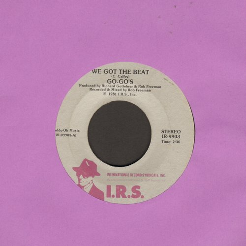 Go-Go's - We Got The Beat/Can't Stop The World (with juke box label) - EX8/ - 45 rpm Records