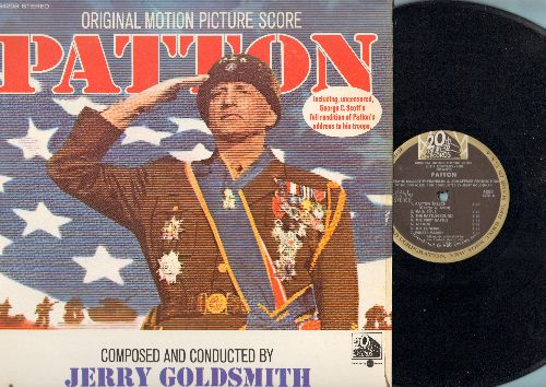 Patton - Patton - Original Motion Picture Score - Composed and conducted by Jerry Goldsmith (vinyl STEREO LP record) - NM9/EX8 - LP Records