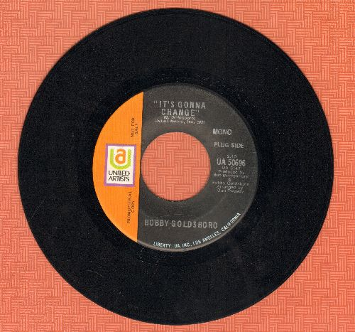 Goldsboro, Bobby - It's Gonna Change/Down On The Bayou (DJ advance pressing) - EX8/ - 45 rpm Records