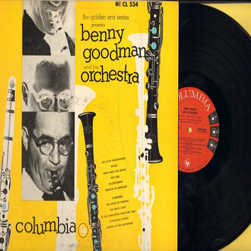 Goodman, Benny & His Orchestra - The Golden Era Series Presents: Jumpin' At The Woodside, Clarinade, The Man I Love, How High The Moon, Cocoanut Grove (vinyl MONO LP record) - NM9/EX8 - LP Records