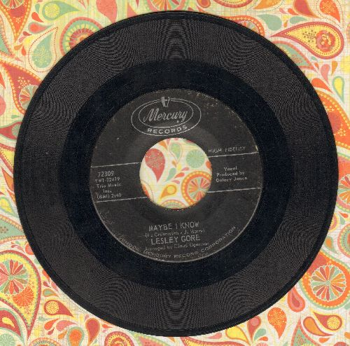 Gore, Lesley - Maybe I Know/Wonder Boy  - VG7/ - 45 rpm Records
