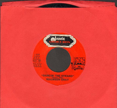 Gray, Maureen - Dancin' The Strand/Talk To Me (by Sunny & The Sunglows) (re-issue) - NM9/ - 45 rpm Records