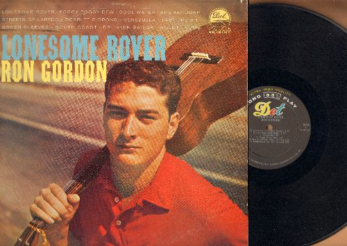 Gordon, Ron - Lonesome Rover: Cool Water, Shenandoah, Streets Of Laredo, Drunken Sailor, Green Sleeves (vinyl MONO LP record) - NM9/VG7 - LP Records