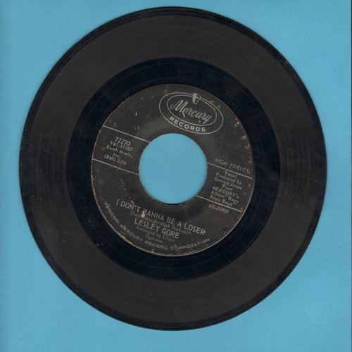 Gore, Lesley - I Don't Wanna Be A Loser/It's Gotta Be You (bb) - EX8/ - 45 rpm Records