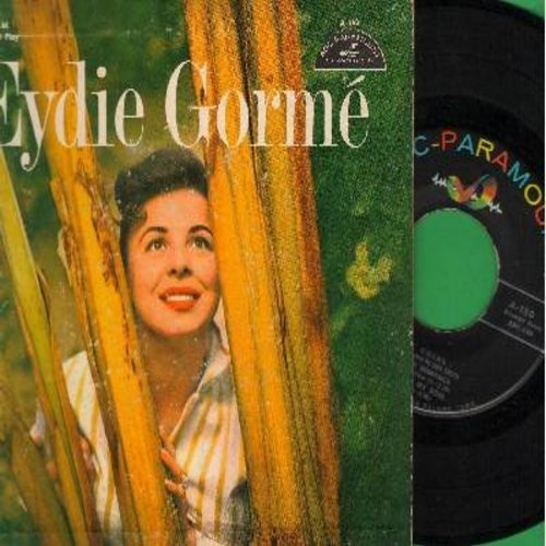 Gorme, Eydie - Eydie Gorme: I'll Take Romance/Day By Day/Gypsy In My Soul/Fine And Dandy (vinyl EP record with picture cover) - NM9/EX8 - 45 rpm Records