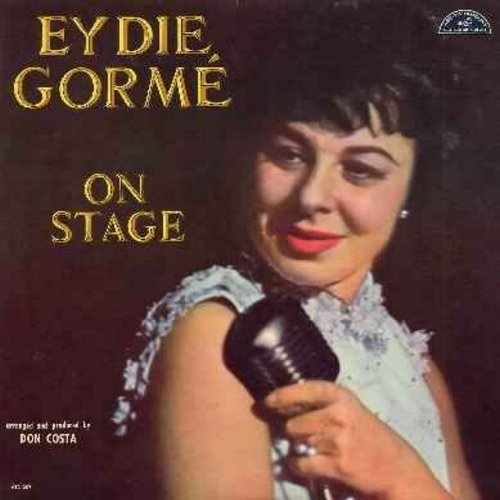 Gorme, Eydie - On Stage: Just One Of Those Things, You're Getting To Be A Habit With Me, One For My Baby (And One More For The Road) (vinyl MONO LP record, DJ advance copy) - NM9/NM9 - LP Records