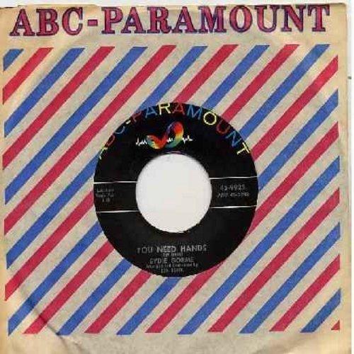 Gorme, Eydie - You Need Hands/Dormi-Dormi-Dormi 9with vintage ABC-Paramount company sleeve) - NM9/ - 45 rpm Records