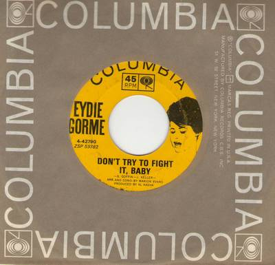 Gorme, Eydie - Don't Try To Fight It, Baby/Theme From Light Fantastic (My Secret World) (with vintage Columbia company sleeve) - EX8/ - 45 rpm Records