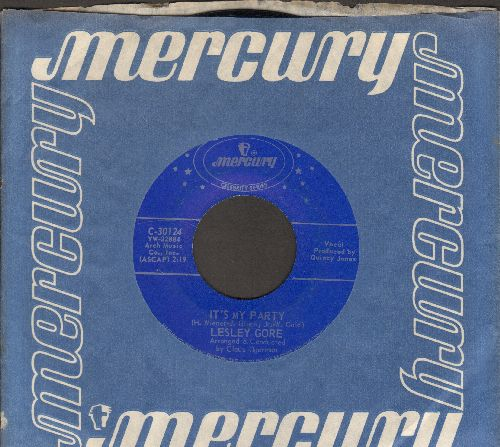 Gore, Lesley - It's My Party/She's A Fool (double-hit re-issue) - NM9/ - 45 rpm Records