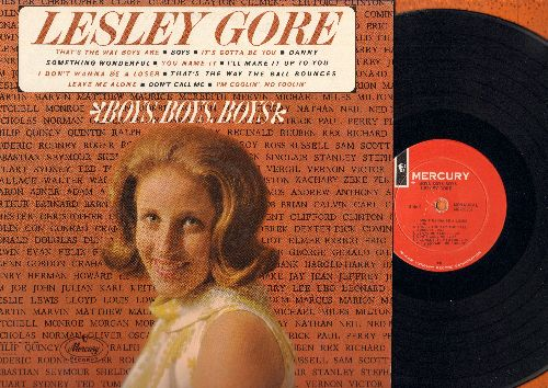 Gore, Lesley - Boys, Boys, Boys: That's The Way Boys Are, I Don't Wanna Be A Loser, Boys, Something Wonderful (vinyl MONO LP record) - EX8/EX8 - LP Records