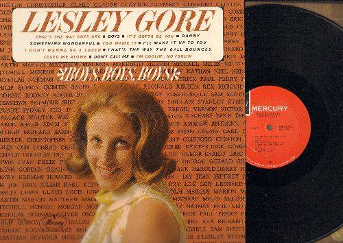Gore, Lesley - Boys, Boys, Boys: That's The Way Boys Are, I Don't Wanna Be A Loser, Boys, Something Wonderful (vinyl MONO LP record, NICE condition!) - NM9/NM9 - LP Records