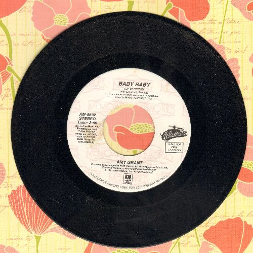 Grant, Amy - Baby Baby/Every Heartbeat (double-hit re-issue) - NM9/ - 45 rpm Records