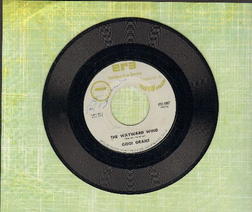 Grant, Gogi - The Wayward Wind/You're In Love (double-hit re-issue, minor wol) - NM9/ - 45 rpm Records