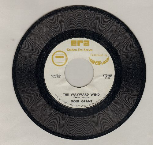 Grant, Gogi - The Wayward Wind/You're In Love (double-hit re-issue) - M10/ - 45 rpm Records