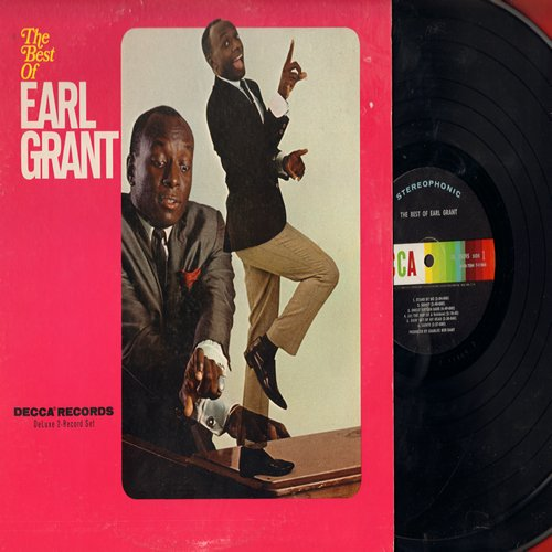 Grant, Earl - Best Of: Sunny, The End, Ol' Man River, Volare, More, Tender Is The Nigth (2 vinyl LP record set, gate-fold cover, vocal and instrumental recordings) - NM9/EX8 - LP Records