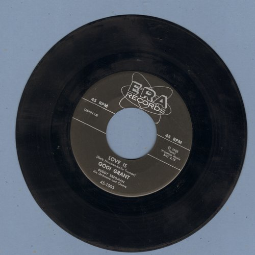 Grant, Gogi - Love Is/Suddenly There's A Valley - EX8/ - 45 rpm Records