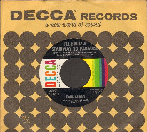 Grant, Earl - I'll Build A Stairway To Paradise (RARE vocal version)/Caravan (with vintage Decca company sleeve) - NM9/ - 45 rpm Records