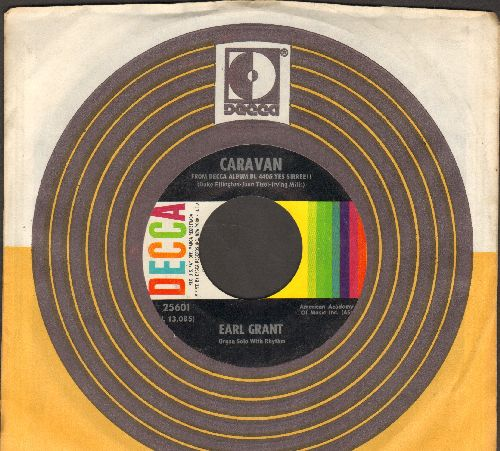 Grant, Earl - Caravan/I'll Build A Stairway To Paradise (wih Decca company sleeve with juke box label) - EX8/ - 45 rpm Records