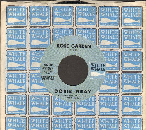 Gray, Dobie - Rose Garden (RARE MINT condition double-A-sided DJ advance pressing with White Whale company sleeve) - M10/ - 45 rpm Records