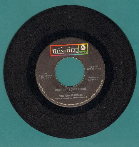 Grass Roots - Midnight Confessions/Who Will You Be Tomorrow  - VG7/ - 45 rpm Records