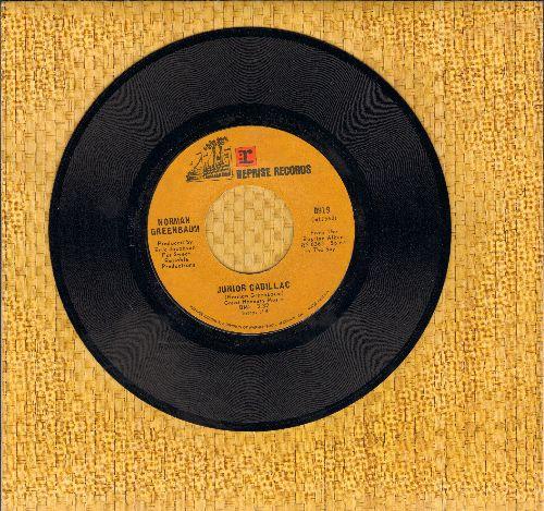 Greenbaum, Norman - Junior Cadillac/Canned Ham - NM9/ - 45 rpm Records