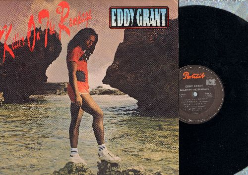 Grant, Eddy - Killer On The Rampage: Electric Avenue, I Don't Wanna Dance, Drop Baby Drop, Latin Love Affair (vinyl STEREO LP record) - M10/EX8 - LP Records
