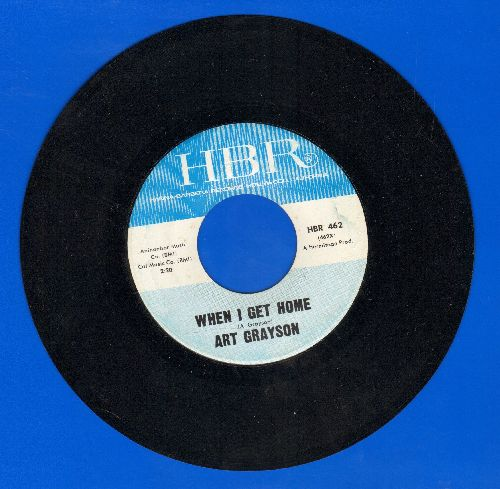 Grayson, Art - When I Get Home/Be Ever Mine - NM9/ - 45 rpm Records