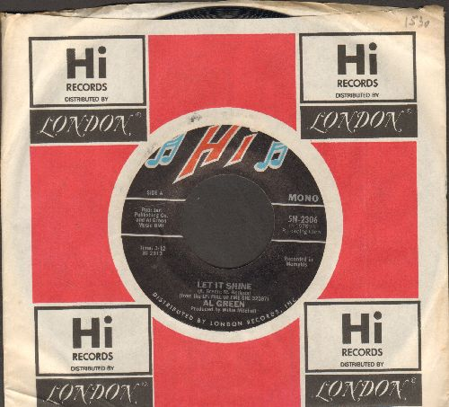 Green, Al - Let It Shine/There's No Way (with Hi company sleeve) - NM9/ - 45 rpm Records